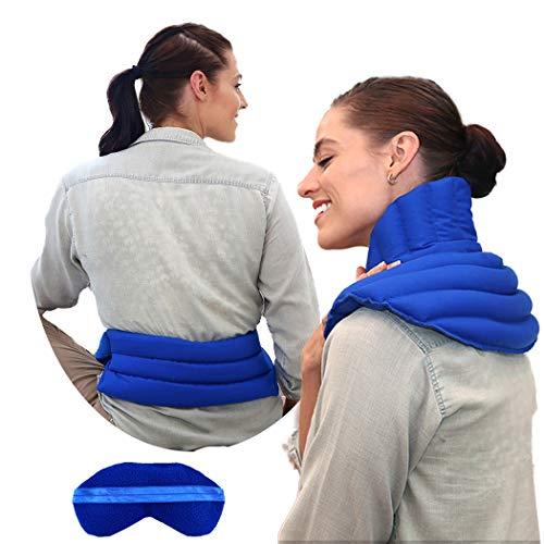 Neck and Shoulder Microwavable Set