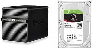 Synology DiskStation DS418j 4ベイ NAS キット 日本正規代理店アスク サポート対応 デュアルコアCPU搭載 保証2年 CS7015