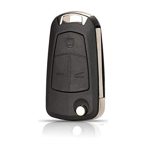 DAXINYANG Cajón de Llave de automóvil Remoto Ajuste para Vauxhall Opel Corsa D Astra Vectra Zafira Signo Tecla remota 2/3 Botón Fob Caso (Color : 3 Buttons)