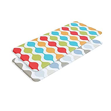 2-PACK Tenby Living Premium Anti-Fatigue, Kitchen Comfort Mat (Large) - Doubl...