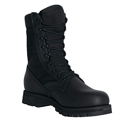 Rothco Military G.I. Type Sierra Sole Tactical Boots, Black, 11