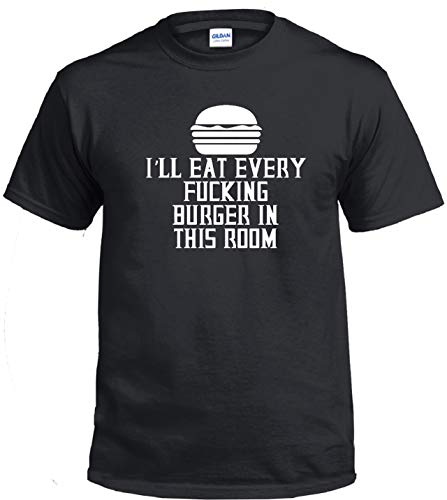 STUFF WITH ATTITUDE Every Burger Black T-Shirt (Large)
