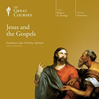 Jesus and the Gospels                   Written by:                                                                                                                                 Luke Timothy Johnson,                                                                                        The Great Courses                               Narrated by:                                                                                                                                 Luke Timothy Johnson                      Length: 18 hrs and 30 mins     3 ratings     Overall 4.7