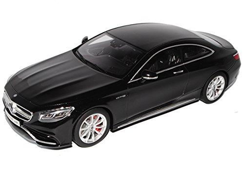 mächtig GT Spirit Mercedes Benz S Klasse S63 AMG Coupé C217 Schwarz 2014 No.ZM 4 1/18 Modell…