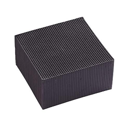 FRAUIT waterfilter Cube 10X10CM Ultra Strong filtratie & absorptie milieuvriendelijke actieve kool (kwaliteit waterzuiverer voor visgericht en natuurlijk aquariumwater, zwart