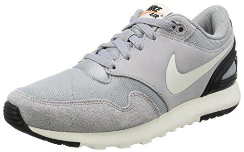 Nike Air VIBENNA, Zapatillas de Gimnasia para Hombre, Negro (Wolf Grey/Sail/Black 002), 38.5 EU