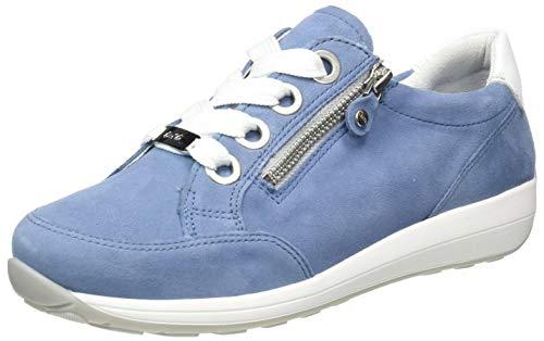ARA Damen Osaka Sneaker, Sky Weiß, 36 EU