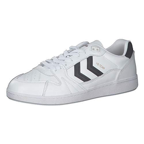 Hummel Herren Hb Team Skater-Schuhe Sneaker Weiß 45 EU