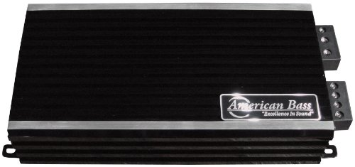 American Bass 2500W Max Class D Amplifier Phantom Micro-Technology, 4 Inch