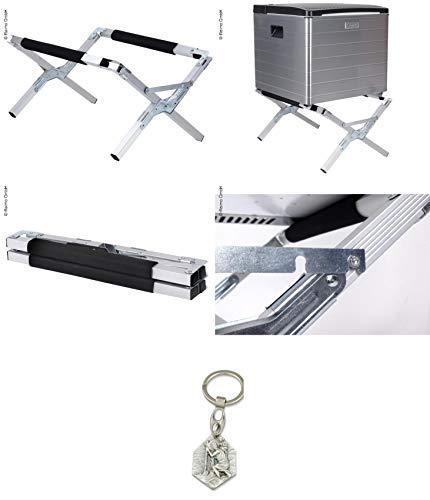 Zisa-Kombi Kühlbox-Ständer, zusammenklappbar, 2 Einstellungen (93298891062) mit Anhänger Herz Jesu 2,5cm