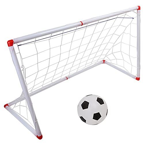 Chanme Red para Portería De Fútbol, Buena Elasticidad, Práctica Y Ligera, Red para Portería De Fútbol Portátil para Niños para Acampar(120cm)