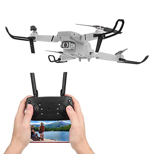 DAUERHAFT RC Drone Stable Flying Outdoor Drone Toy Dual Camera Drone Clear Pictures with Altitude Hold Mode Function for Boyfriend Gift