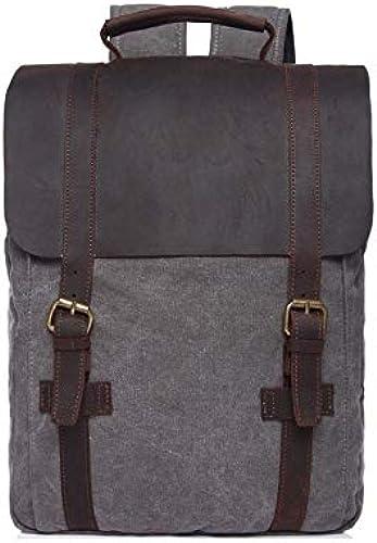CAONIW Einfacher vielseitiger Taschenrucksack Aufladen M errucksack Laptoptasche Rucksack Qualität Klassischer Jugendrucksack