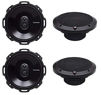Rockford Fosgate P1675 6.75  240W 3 Way Car Coaxial Audio Speakers Stereo