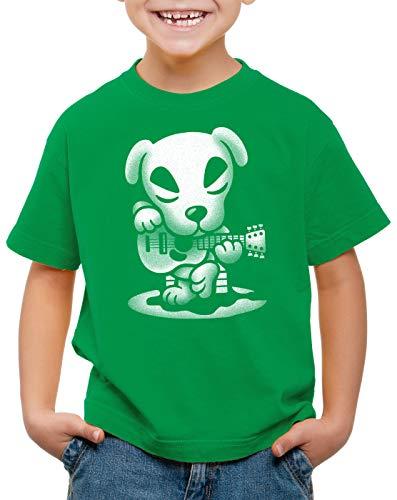 A.N.T. Slider Guitarra Camiseta para Niños T-Shirt Switch A