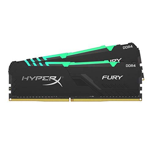 HyperX FURY RGB HX432C16FB4AK2/32 Memoria 32GB Kit*(2x16GB) 3200MHz DDR4 CL16 DIMM