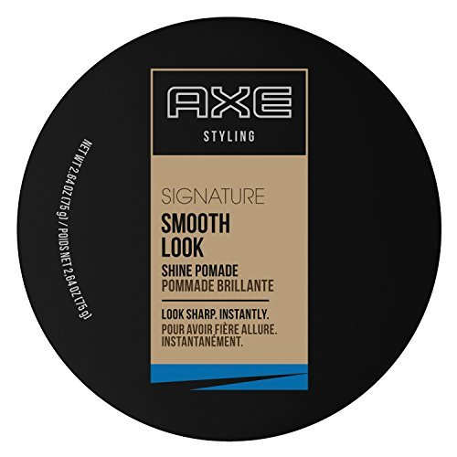 Sleek Smooth & Sophisticated Look Shine Pomade AXE Pomade Men 2.64 oz (Pack of 3)