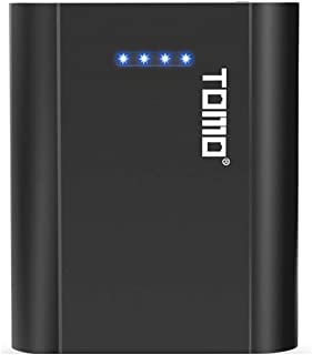 Bundle of 2, Docooler P4 18650 Li-ion Battery Charger Micro USB Input Dual Output Smart Power Bank Portable Charger for Ce...