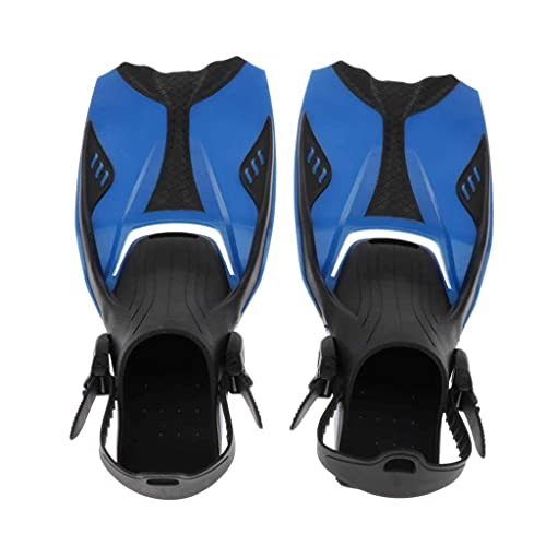 Sgxiyue Adult Youth Snorkeling Fins Flippers Heel Short Fin t Swimming Fins Snorkeling Water Fin Dive Gear Equipment (Size : Large-XL)