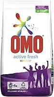 Omo Active Fresh Toz Çamaşır Deterjanı Renkliler İçin Renklilerinizi Koruyarak En Zorlu Lekeleri İlk Yıkamada Çıkarır 9...