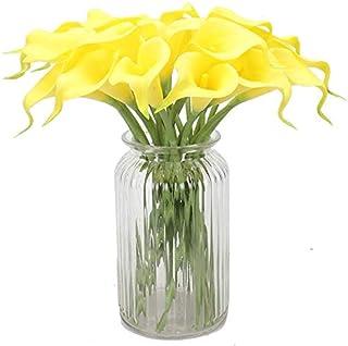 Osiem kosmicznych sztuczne lilie kalla, DIY kwiatowe aranża