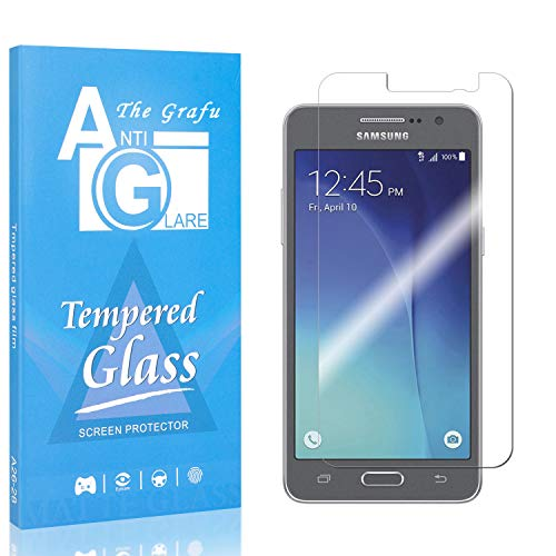 New The Grafu Screen Protector for Galaxy Grand Prime, 9H Hardness Tempered Glass, Bubble Free, Ultr...
