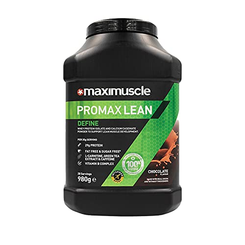MAXIMUSCLE Promax Lean Protein Powder Chocolate Flavour,980 g