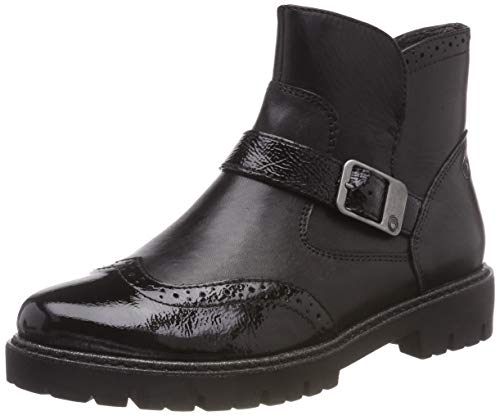 Be Natural Damen 25407-21 Stiefeletten, Schwarz (Black 001), 38 EU