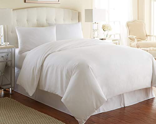 Southshore Fine Living, Inc. Vilano Springs Premium Quality Oversized 3-Piece Duvet Cover Set, King/California King, Bright White