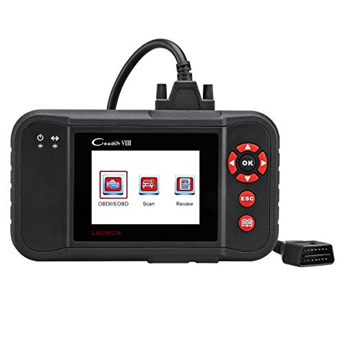Read About LAUNCH Creader VIII OBD2 Scan Tool Automotive Scanner for ENG/at/ABS/SRS/EPB/SAS/Oil Serv...