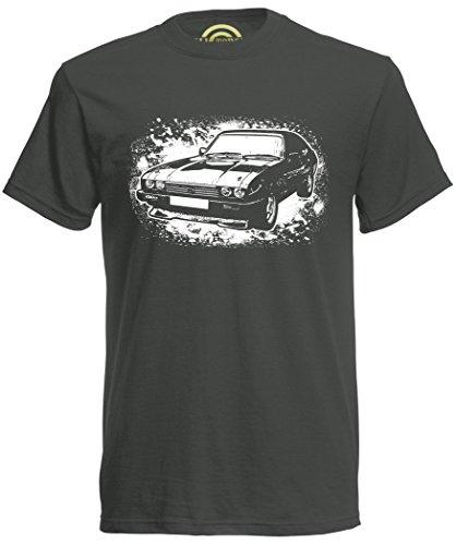 Ford Capri T-shirt, Premium Ringspun Cotton