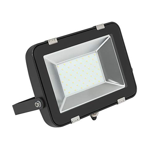 Biard LED 50W Flutlicht - Moderner SMD Flutlichtstrahler - 120° Strahlungswinkel - Scheinwerfer in Kaltweiß