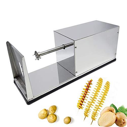 Huanyu Commercial Tornado cortador de patatas eléctrico cortador de patatas en espiral...