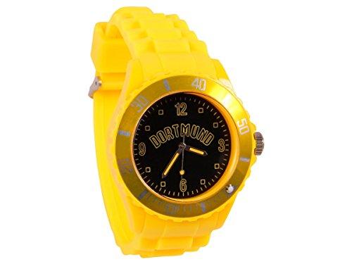 Alsino Armbanduhr WM EM Länder Silikon Uhren für Damen und Herren Silikonuhr, UR-261 Dortmund