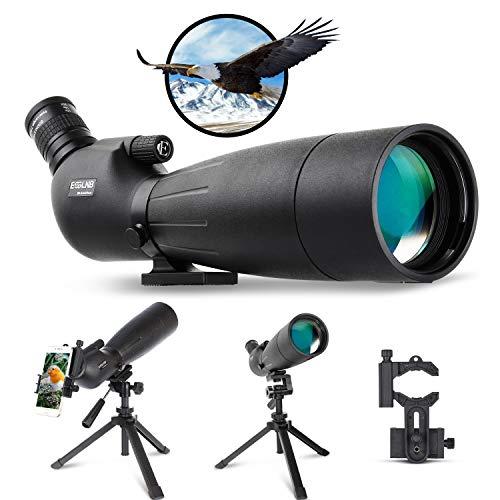 ESSLNB Spotting Scopes 80mm Spotting Scope 20-60X BAK4...