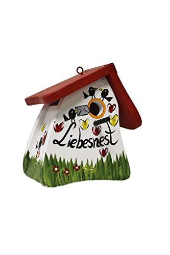 Die Vogelvilla, Nistmini Liebesnest Brief, Nistkasten, Vogelhaus