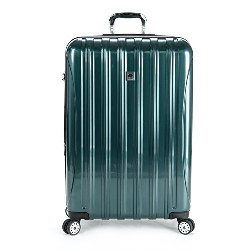 Delsey Luggage Helium Aero 29 Inch Expandable Spinner Trolley One Size  Teal