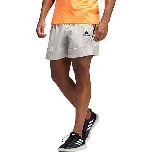 adidas mens AEROREADY 3-Stripes Short Primeblue Alumina X-Large