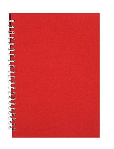 Pink Pig rot A4 Skizzenbuch 150gsm säurefrei weißes Papier 70 Seiten (35 Blätter)
