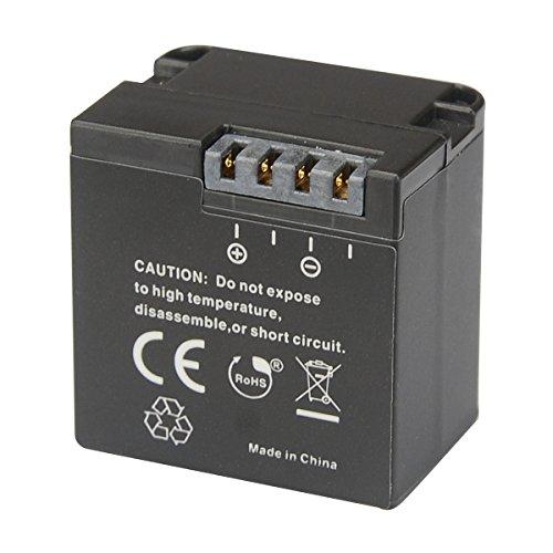 Newmowa Batería de Repuesto (2-Pack) y Kit de Cargador Doble para Micro USB portátil para Garmin Virb X y Virb XE