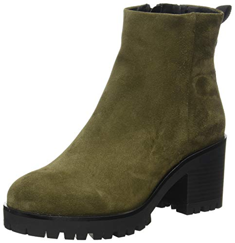 Buffalo Damen Malia Mode-Stiefel, Khaki, 39 EU