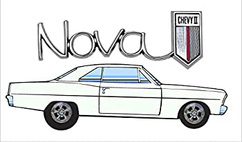 Signs By Woody 66-67 Chevy II Nova Garage Man cave Banner