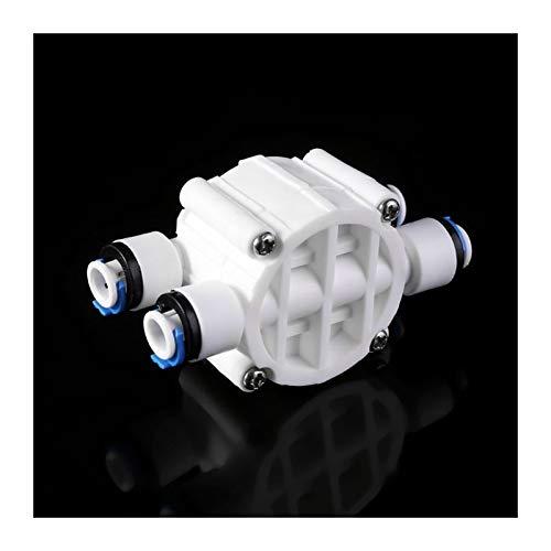 ZhengELE Válvula El Interruptor de válvula de Cierre automático de 4 vías RO 1/4'Sistema de ósmosis inversa del purificador de Agua