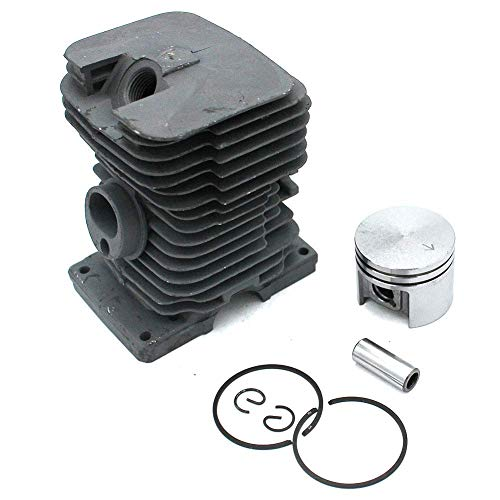 DLiQ Cylinder Head Piston Kit,Cylinder Piston Rebuild Assembly Kit for Stihl 017 MS170 Chainsaws 37mm