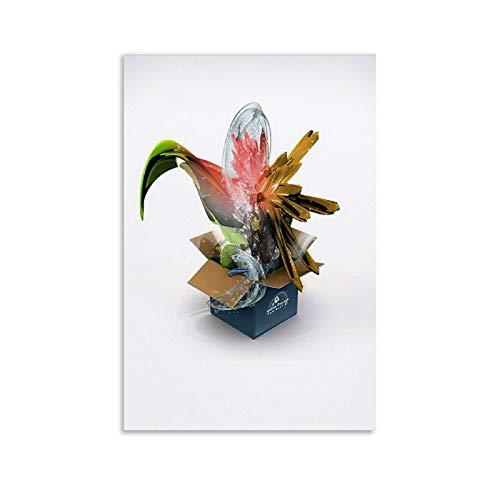 Geschenkbox, Überraschungsposter, ästhetisches Geschenk, dekoratives Gemälde, Leinwand, Wandkunst, Wohnzimmer, Poster, Schlafzimmer, Gemälde, 50 x 75 cm
