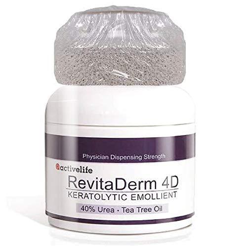 Revitaderm 40% Urea Cream for Calloused, Cracked Feet, Heels & Elbows - Callus Remover Lotion Urea Cream 40 Percent for Feet, Softens Rough, Dry Skin