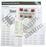 Replacement Button Set, Desi Button Labels, 3 Language User Guide for Nortel T7316 Business Phone