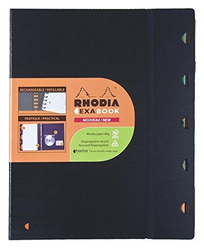 Rhodia 341598 - Bloc de notas (50 hojas, A5), color negro