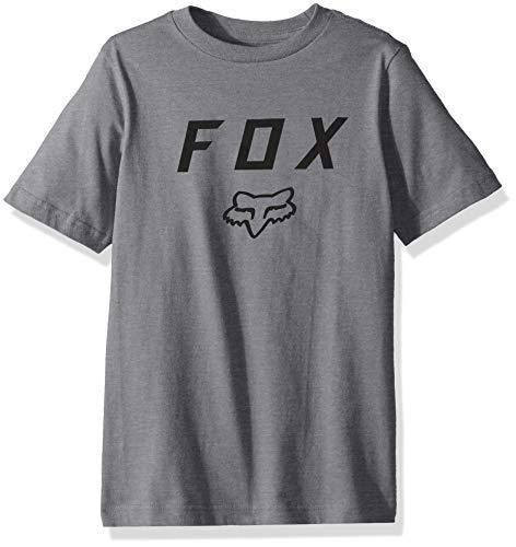 Fox Racing Kids Big Boys Youth Legacy Motth SS T-Shirt, Heather Graphit, Größe M