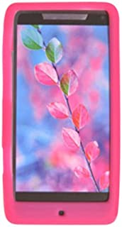 Decoro SILMOTXT907HPK Premium Silicone Case for Motorola XT907/Droid RAZR M - 1 Pack - Retail Packaging - Hot Pink